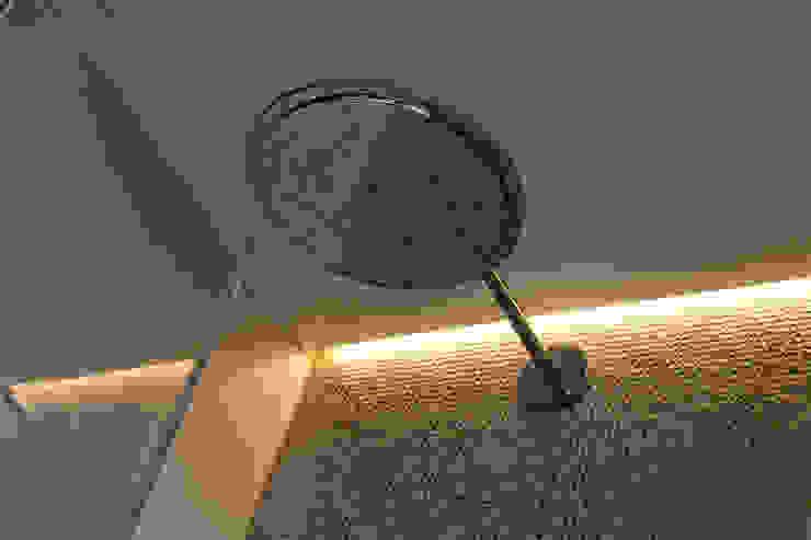 Naadloze Wanden in Badkamer Minimalistische badkamers van Motion Gietvloeren Minimalistisch Kunststof