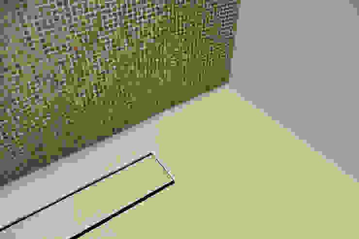 Naadloze Vloer Badkamer Minimalistische badkamers van Motion Gietvloeren Minimalistisch Kunststof