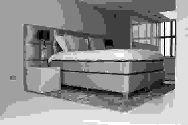 Gietvloer in Slaapkamer Moderne slaapkamers van Motion Gietvloeren Modern Kunststof