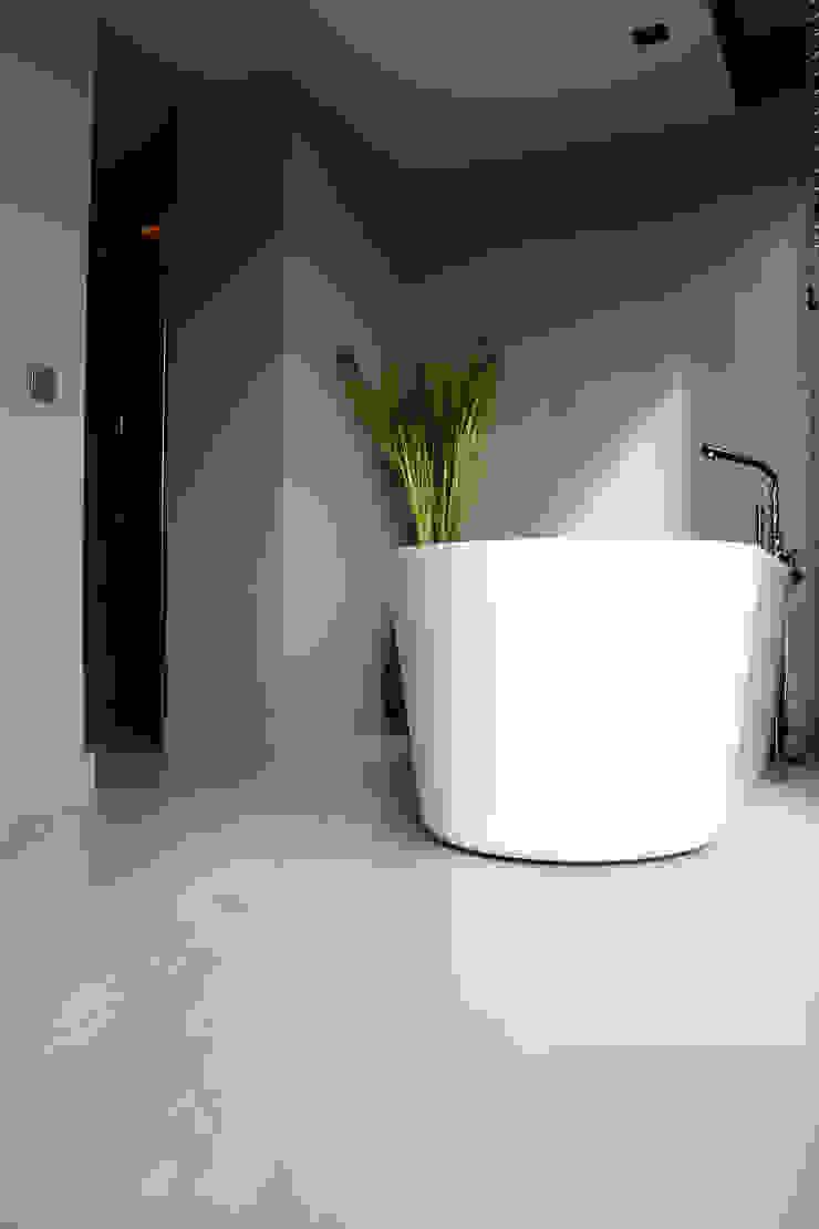 Moderne Badkamer Vloer Moderne badkamers van Motion Gietvloeren Modern Kunststof