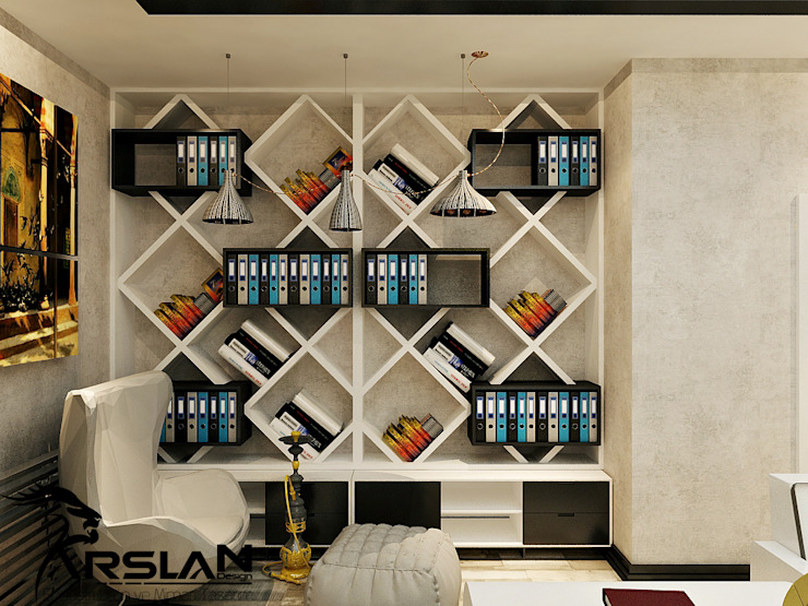Oficinas de estilo  por ARSLAN ENDÜSTRİ VE MİMARİ TASARIM, Moderno Madera Acabado en madera