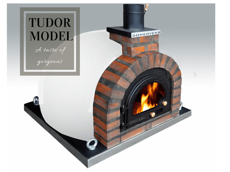 Wood-fired European pizza oven by Dome Ovens® Mediterranean