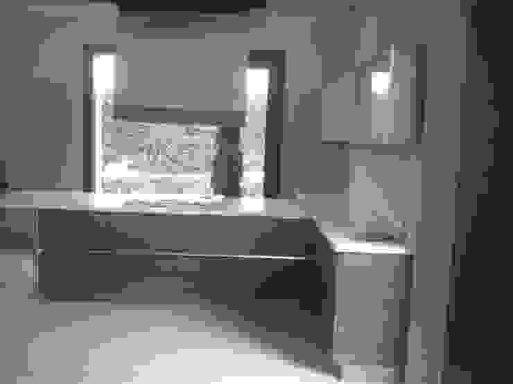 Modular Kitchen by ANBN DESIGNS Modern Plywood