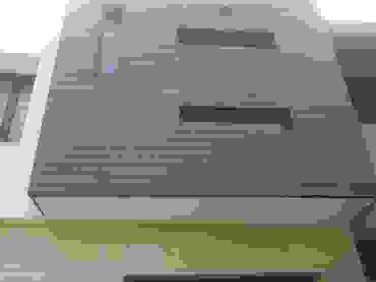 Facade Modern houses by ANBN DESIGNS Modern Engineered Wood Transparent