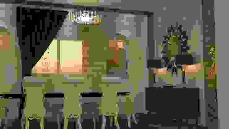 غرفة السفرة تنفيذ Batool , كلاسيكي