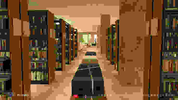 NTUS Library大學圖書館設計案 - 京悅設計 Minimalist dining room by 京悅室內裝修設計工程(有)公司|真水空間建築設計居研所 Minimalist Marble