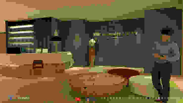 NTUS Library大學圖書館設計案 - 京悅設計 Modern walls & floors by 京悅室內裝修設計工程(有)公司|真水空間建築設計居研所 Modern Wood Wood effect