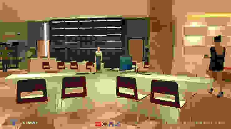 industrial  by 京悅室內裝修設計工程(有)公司|真水空間建築設計居研所, Industrial Solid Wood Multicolored