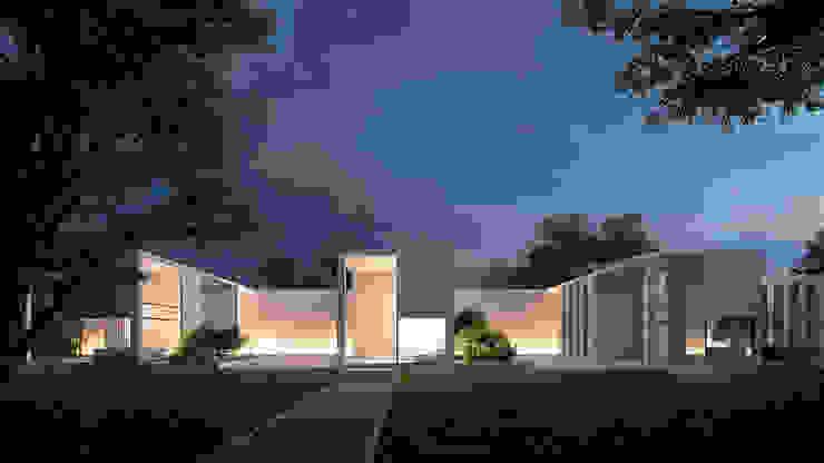 Alyona Musina Casas de estilo minimalista