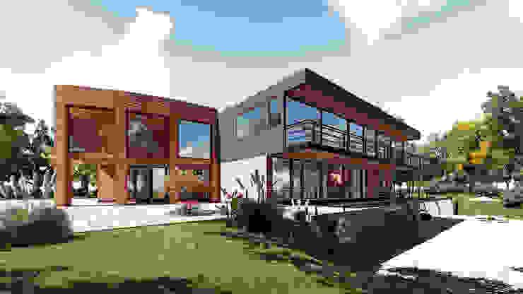 Propuesta Casas estilo moderno: ideas, arquitectura e imágenes de NEF Arq. Moderno