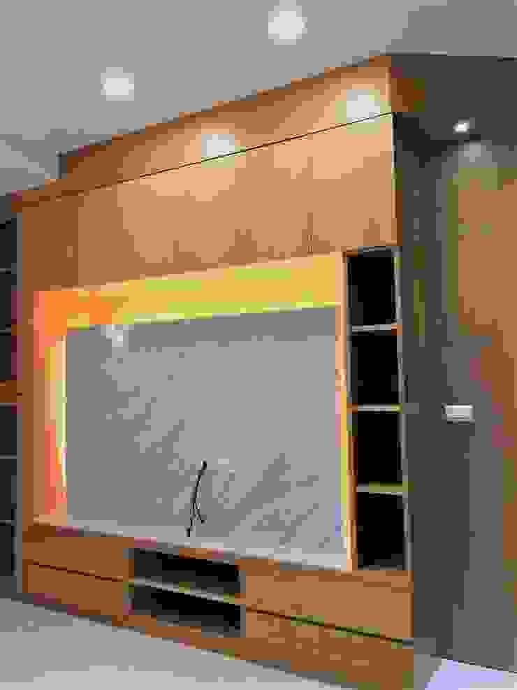 寶佳室內設計及施工 根據 寶佳室內裝修工務所 北歐風 實木 Multicolored