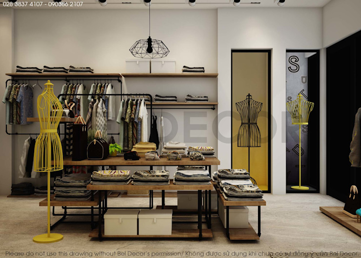 Project: SH1701 Fashion Shop & Studio/ Bel Decor bởi Bel Decor