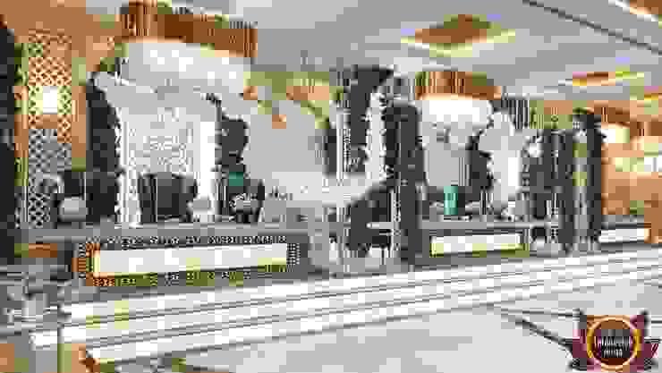 Interior decoration llc Katrina Antonovich Classic style dining room by Luxury Antonovich Design Classic
