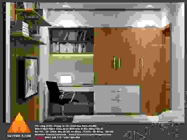 Phòng học/văn phòng phong cách hiện đại bởi homify Hiện đại
