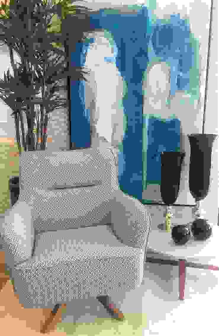 Sgabello Interiores Office spaces & stores Textile Blue