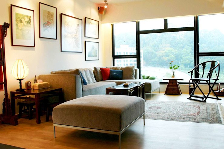 Constellation Cove Classic style living room by Clifton Leung Design Workshop Classic