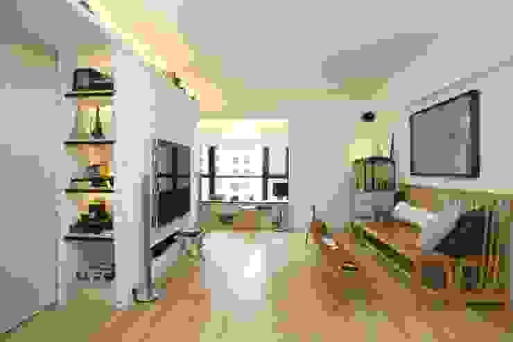 Vantage Park Modern living room by Clifton Leung Design Workshop Modern