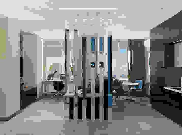 Modern Living Room by EEDS дизайн студия Евгении Ермолаевой Modern