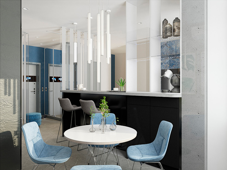 Modern Dining Room by EEDS дизайн студия Евгении Ермолаевой Modern