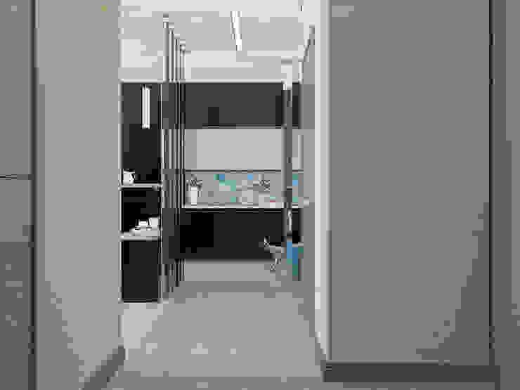 Modern Corridor, Hallway and Staircase by EEDS дизайн студия Евгении Ермолаевой Modern