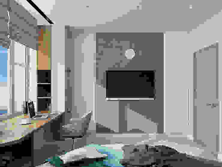 Modern Bedroom by EEDS дизайн студия Евгении Ермолаевой Modern