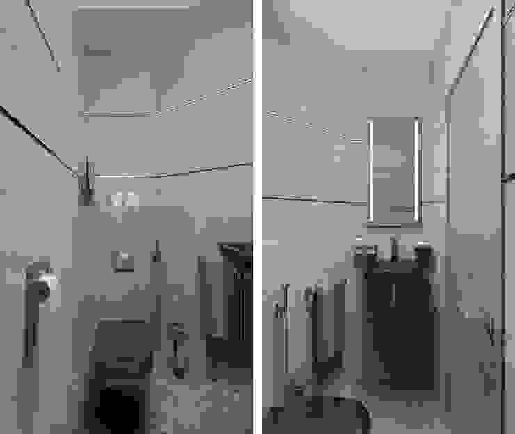Modern Bathroom by EEDS дизайн студия Евгении Ермолаевой Modern