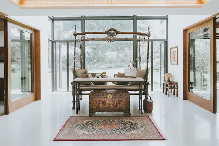 D House Living Innovations Design Unlimited, Inc. Living room
