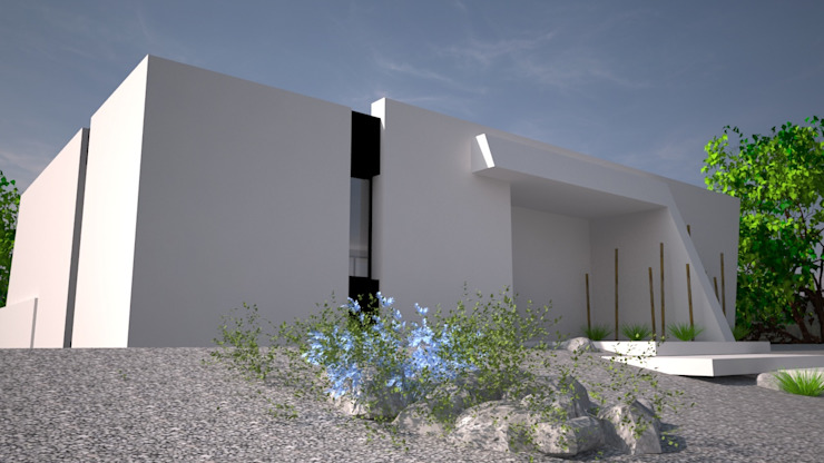 Sintra – SRF Lote 16 por Andreia Anjos - Arquitectura, Design e Construção Moderno