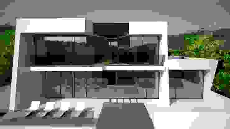 Projekty,  Willa zaprojektowane przez Andreia Anjos - Arquitectura, Design e Construção,