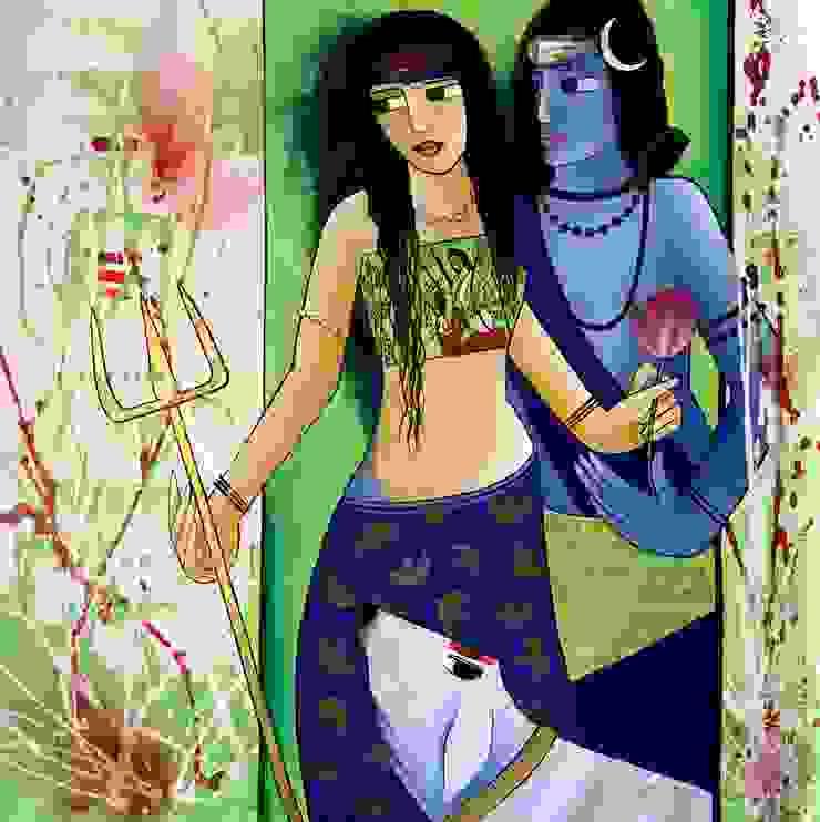 Shivaya Gowri Series: asian  by Indian Art Ideas,Asian
