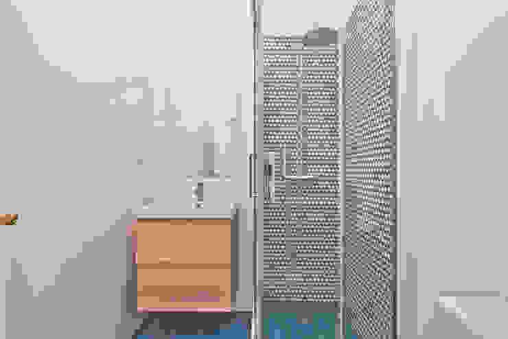 Instalação Sanitária das crianças homify Casas de banho escandinavas Azul