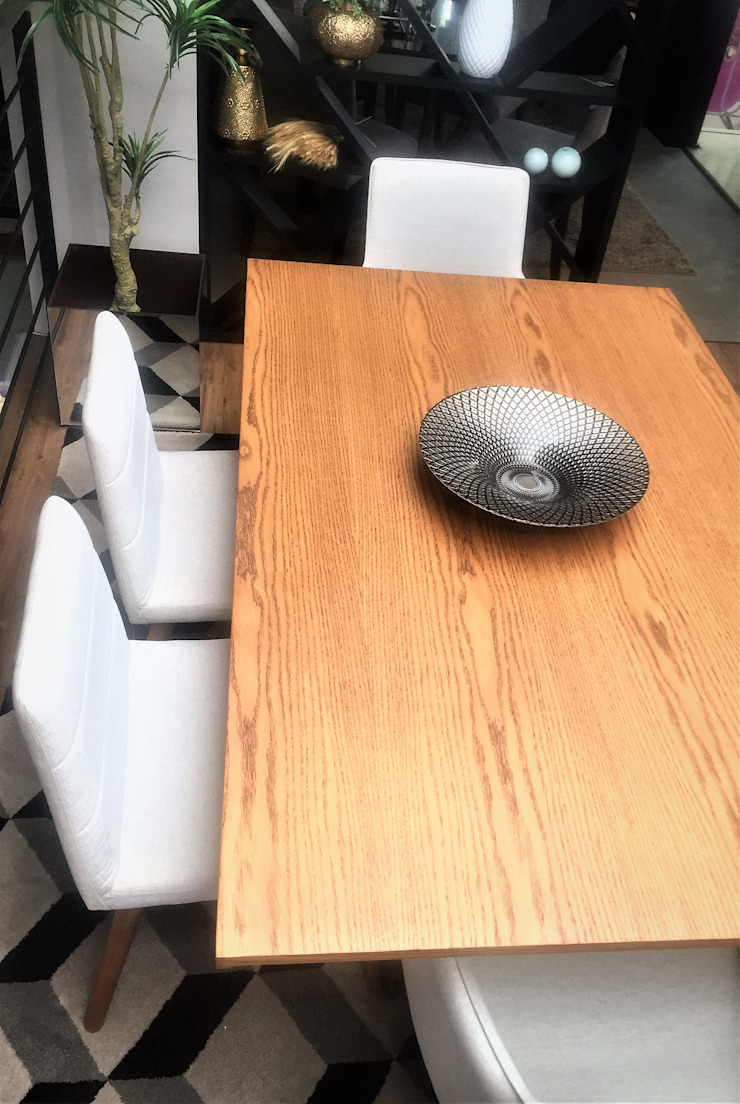 Comedores de estilo moderno de Sgabello Interiores Moderno Madera Acabado en madera