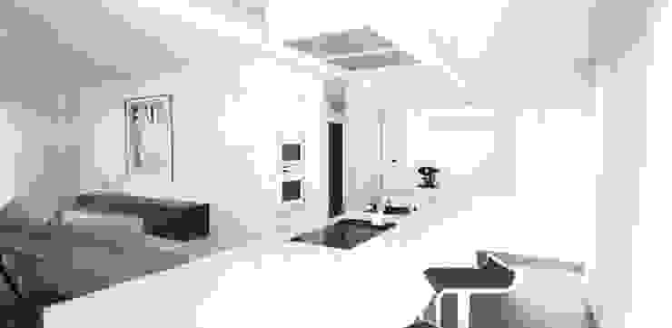 Visualisierung Küche: modern  von habes-architektur,Modern