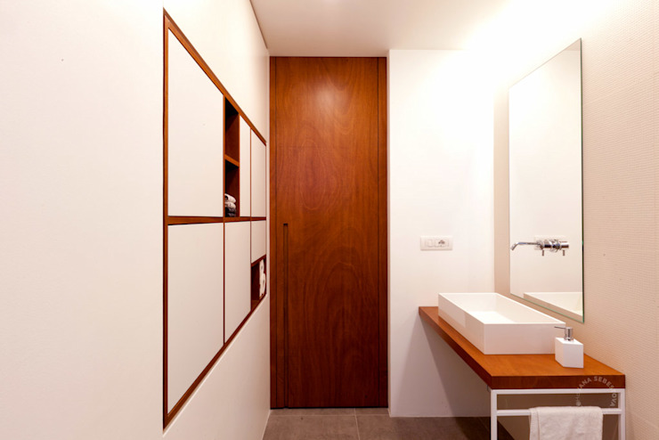Modern bathroom by Paola Maré Interior Designer Modern Wood Wood effect