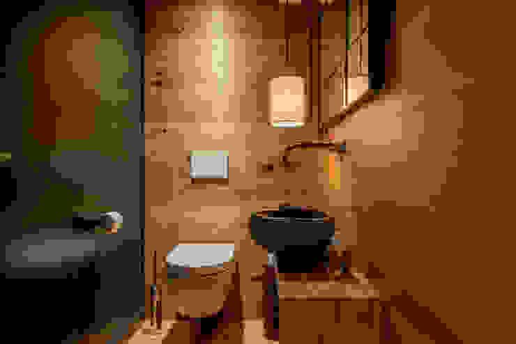 Ohlde Interior Design 工業風的玄關、走廊與階梯 Black