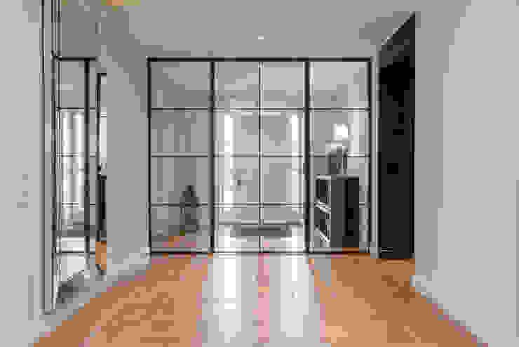 Ohlde Interior Design インダストリアルな 玄関&廊下&階段