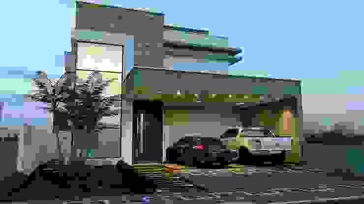 ARQUITETURA E INTERIORES Casas modernas por Schwartz Arquitetura Moderno