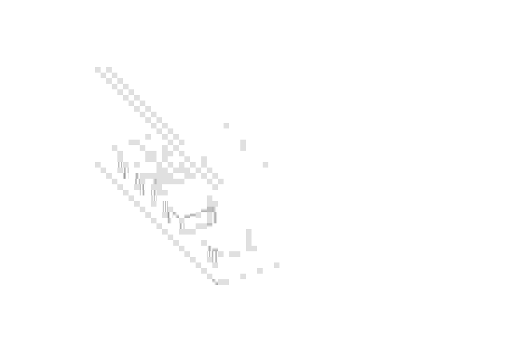 058_VILLA IN CAMPAGNA di MIDE architetti Moderno
