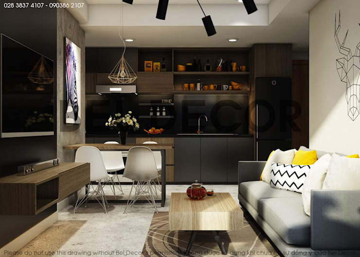 Project: HO1684 Apartment/ Bel Decor bởi Bel Decor