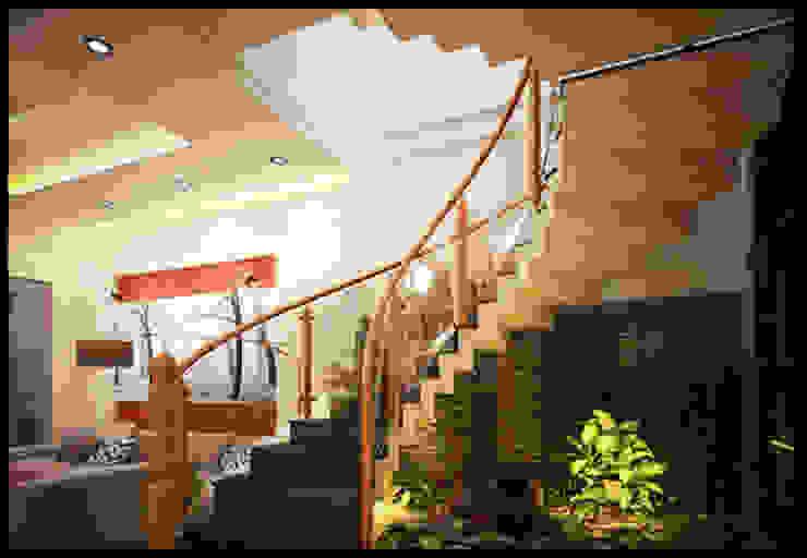 Tư Vấn Thiết Kế Nhà Ống 3 Tầng 1 Tum 5x18m Ở Bình Thạnh bởi Công ty TNHH Xây Dựng TM – DV Song Phát Hiện đại
