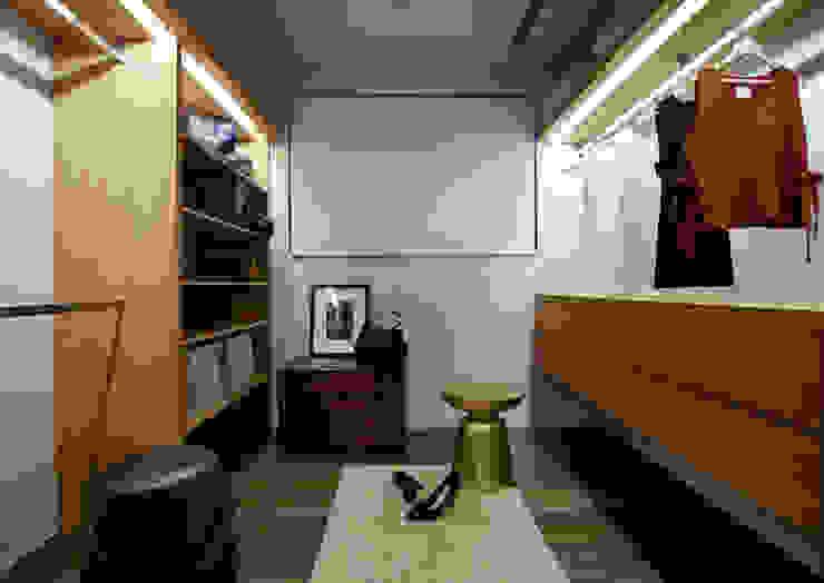 樸十設計有限公司 SIMPURE Design Ruang Ganti Modern