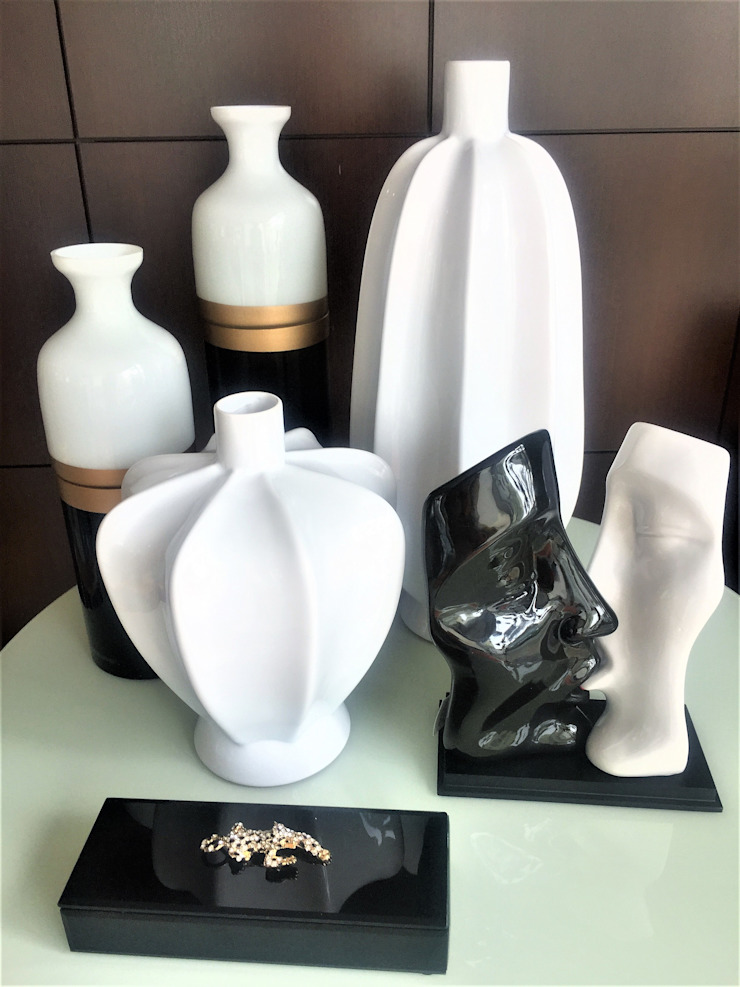 Sgabello Interiores Living roomAccessories & decoration Ceramic White