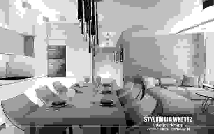 Stylownia Wnętrz Salle à manger moderne Beige