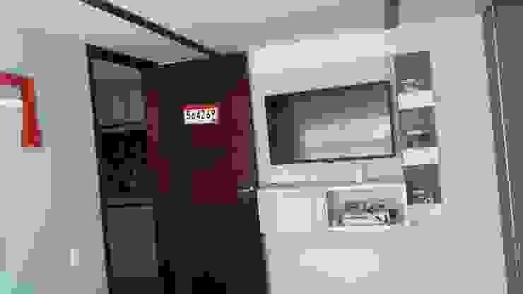 Mueble tv:  de estilo industrial por TICKTO STUDIO, Industrial