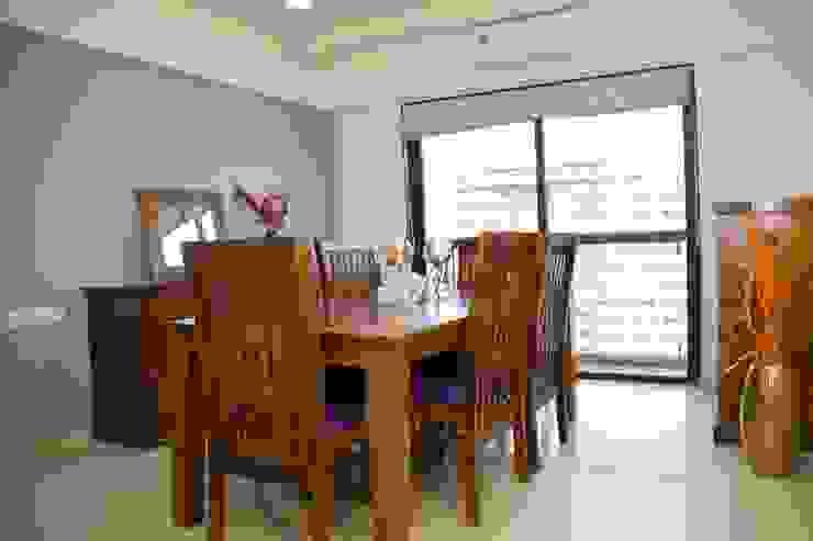 Mrs. Rama Vaidyananath Modern dining room by Aesthetica Modern