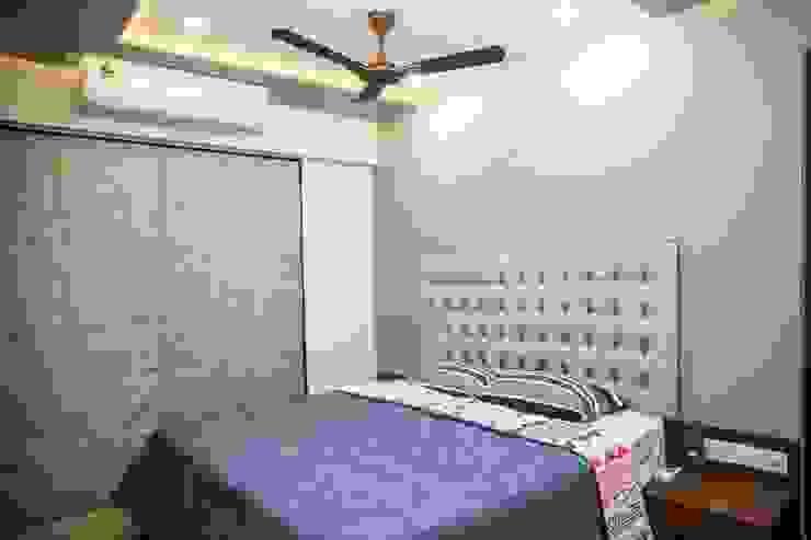 Mrs. Rama Vaidyananath Modern style bedroom by Aesthetica Modern