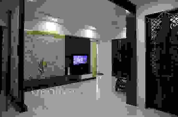 Living Room KREATIVE HOUSE Salon classique Contreplaqué Marron