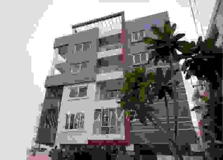 Exterior Elevation KREATIVE HOUSE Habitats collectifs Gris
