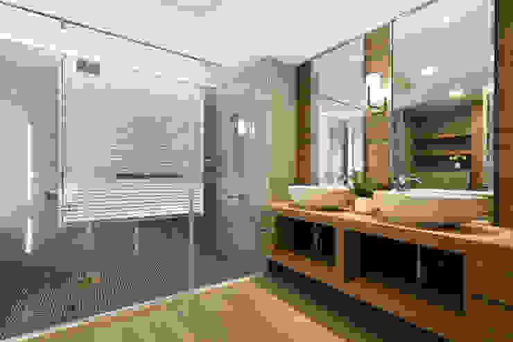 Salle de bain originale par 喬克諾空間設計 Éclectique