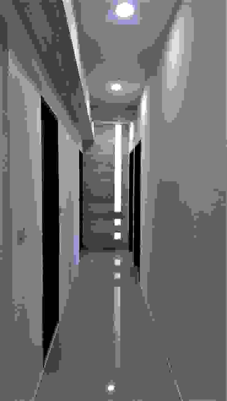 Natural Modern || wood lines北歐的木趨線 隨意取材風玄關、階梯與走廊 根據 喬克諾空間設計 隨意取材風